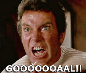 Admiral James T. Kirk says Goooaal!